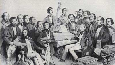 'The Musical Union Artists of the 1851 Season'
